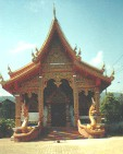 One of 300 temples in Chiang Mai